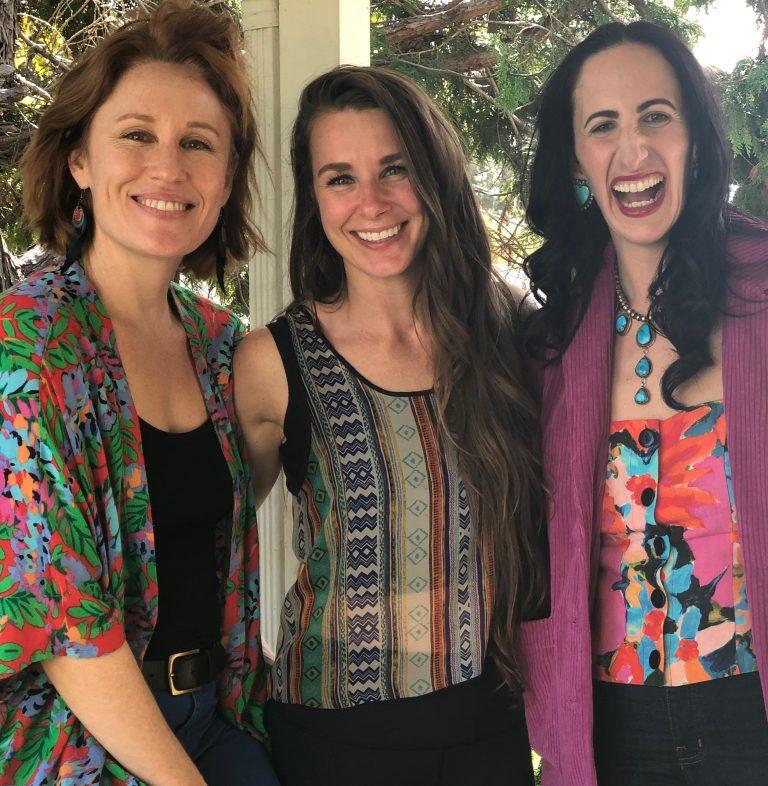 pretty spiritual podcast meet the team ella lindsay and annie