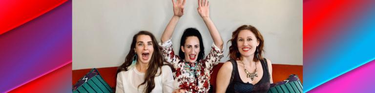 Pretty Spiritual Podcast founders having fun